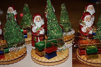 Weihnachtsbäumchen zum Essen 15