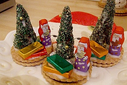Weihnachtsbäumchen zum Essen 23