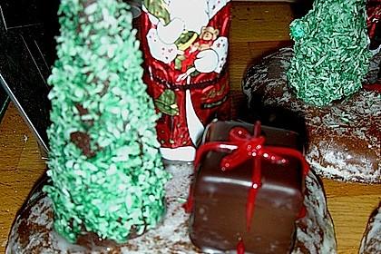 Weihnachtsbäumchen zum Essen 163