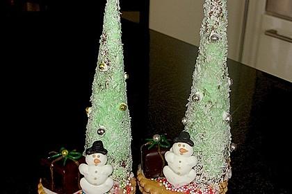 Weihnachtsbäumchen zum Essen 38