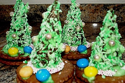 Weihnachtsbäumchen zum Essen 188