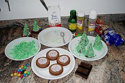 Weihnachtsbäumchen zum Essen 123