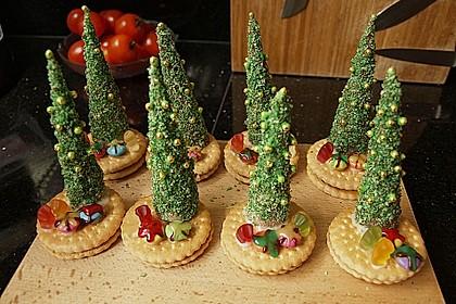 Weihnachtsbäumchen zum Essen 67