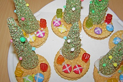 Weihnachtsbäumchen zum Essen 56