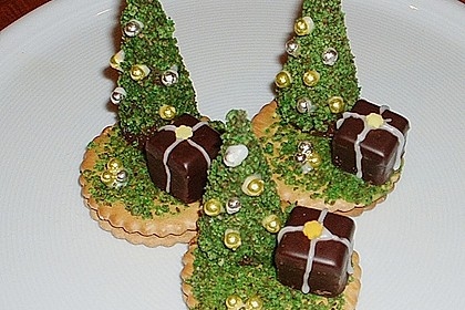 Weihnachtsbäumchen zum Essen 16