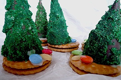 Weihnachtsbäumchen zum Essen 195
