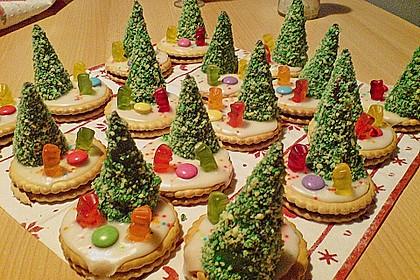 Weihnachtsbäumchen zum Essen 71
