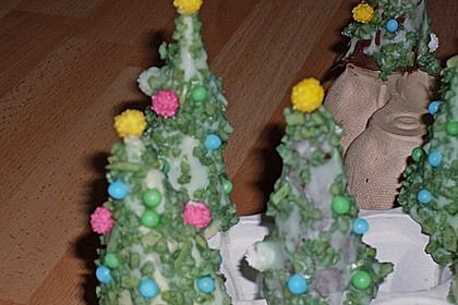 Weihnachtsbäumchen zum Essen 203