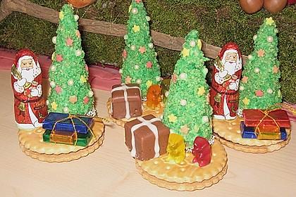 Weihnachtsbäumchen zum Essen 42
