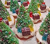 Weihnachtsbäumchen zum Essen (Bild)