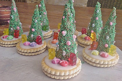 Weihnachtsbäumchen zum Essen 164
