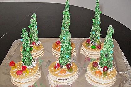 Weihnachtsbäumchen zum Essen 152