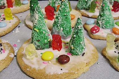Weihnachtsbäumchen zum Essen 144