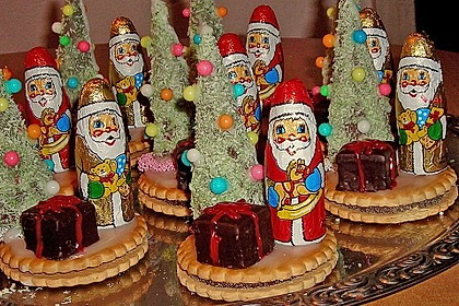 Weihnachtsbäumchen zum Essen 82