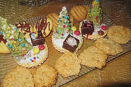 Weihnachtsbäumchen zum Essen 156