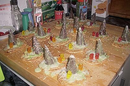 Weihnachtsbäumchen zum Essen 200