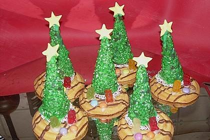 Weihnachtsbäumchen zum Essen 31