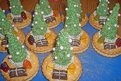 Weihnachtsbäumchen zum Essen 45