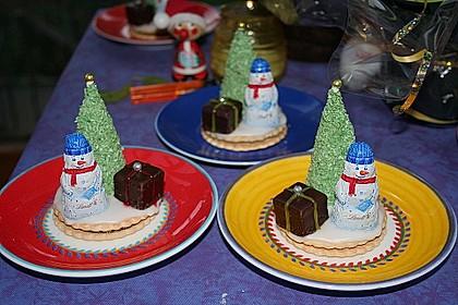 Weihnachtsbäumchen zum Essen 43