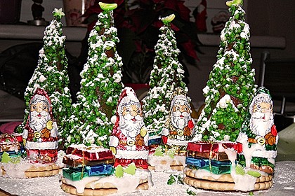 Weihnachtsbäumchen zum Essen 6