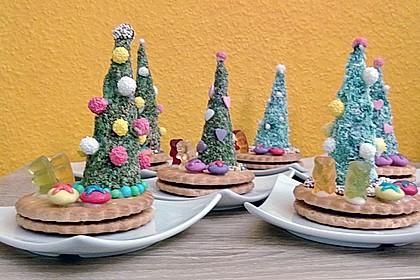 Weihnachtsbäumchen zum Essen 190