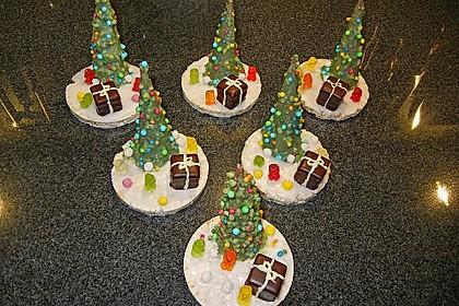 Weihnachtsbäumchen zum Essen 9