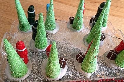 Weihnachtsbäumchen zum Essen 116