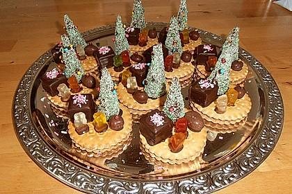 Weihnachtsbäumchen zum Essen 86
