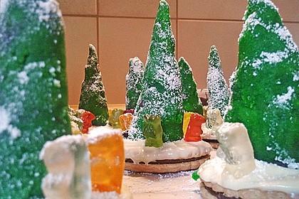 Weihnachtsbäumchen zum Essen 150