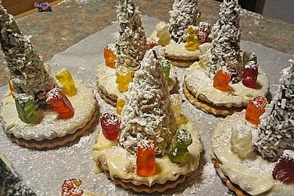 Weihnachtsbäumchen zum Essen 90