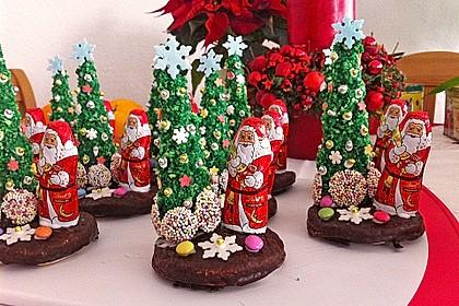 Weihnachtsbäumchen zum Essen 13