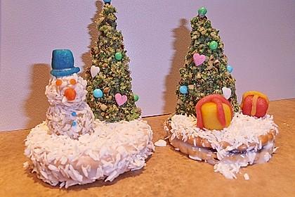 Weihnachtsbäumchen zum Essen 70