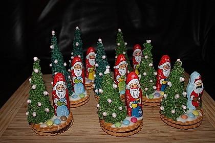 Weihnachtsbäumchen zum Essen 5
