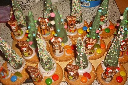 Weihnachtsbäumchen zum Essen 175