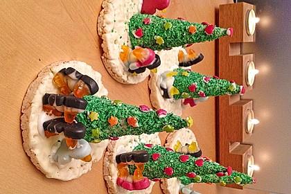 Weihnachtsbäumchen zum Essen 108