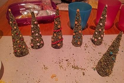 Weihnachtsbäumchen zum Essen 41