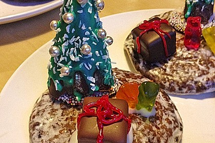 Weihnachtsbäumchen zum Essen 11