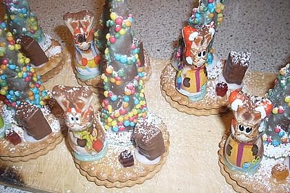 Weihnachtsbäumchen zum Essen 100