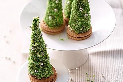 Weihnachtsbäumchen zum Essen 3