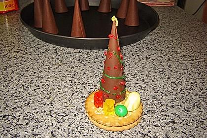 Weihnachtsbäumchen zum Essen 130
