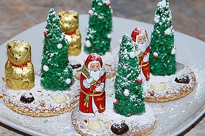 Weihnachtsbäumchen zum Essen 7