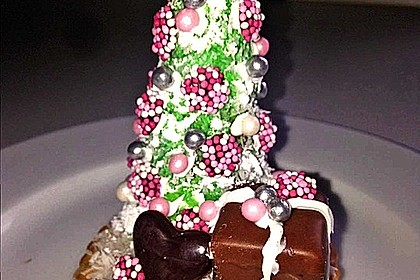 Weihnachtsbäumchen zum Essen 77