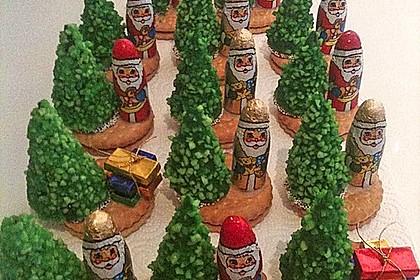 Weihnachtsbäumchen zum Essen 80