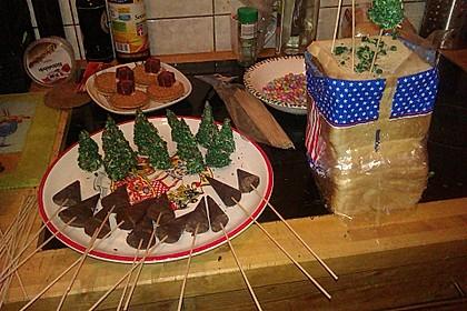 Weihnachtsbäumchen zum Essen 91