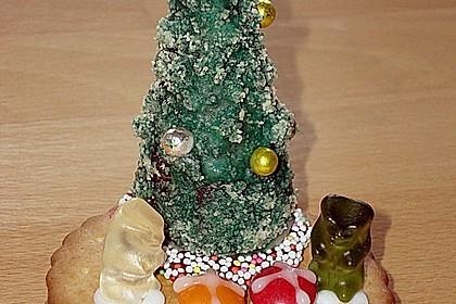 Weihnachtsbäumchen zum Essen 36