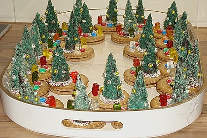 Weihnachtsbäumchen zum Essen 21