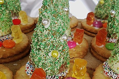 Weihnachtsbäumchen zum Essen 75