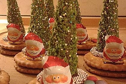 Weihnachtsbäumchen zum Essen 180