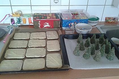 Weihnachtsbäumchen zum Essen 177