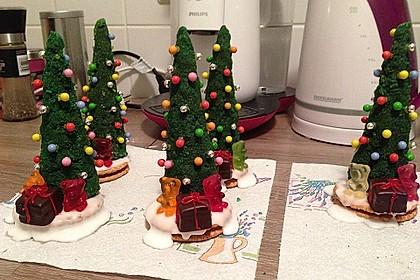 Weihnachtsbäumchen zum Essen 176